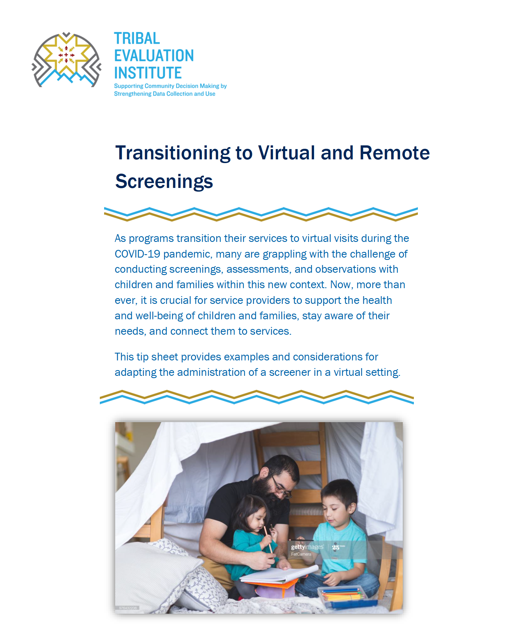 Virtual and Remote Screenings tip sheet cover